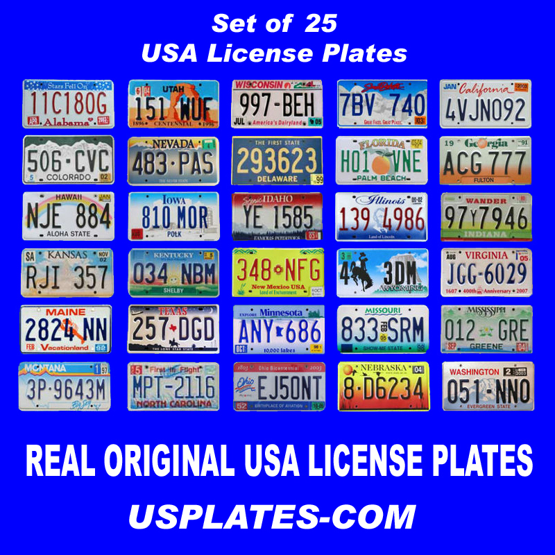 License Plates Illinois United States